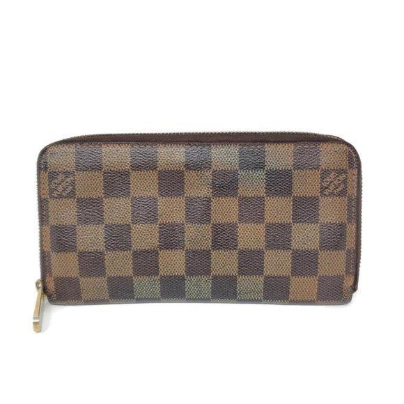 Louis Vuitton Handbags - Auth Louis Vuitton Zippy Damier Ebene Wallet